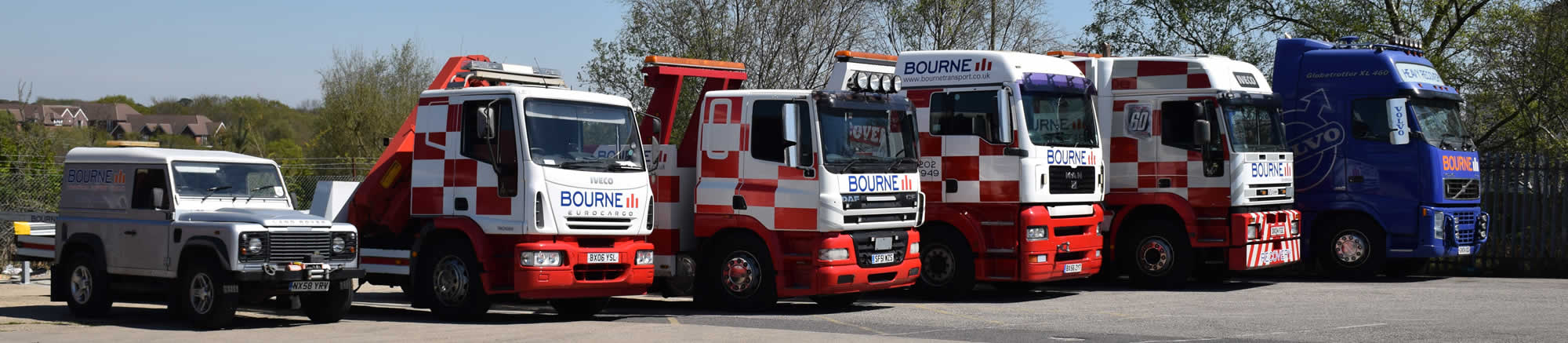 Bourne Transport Recovery Fleet