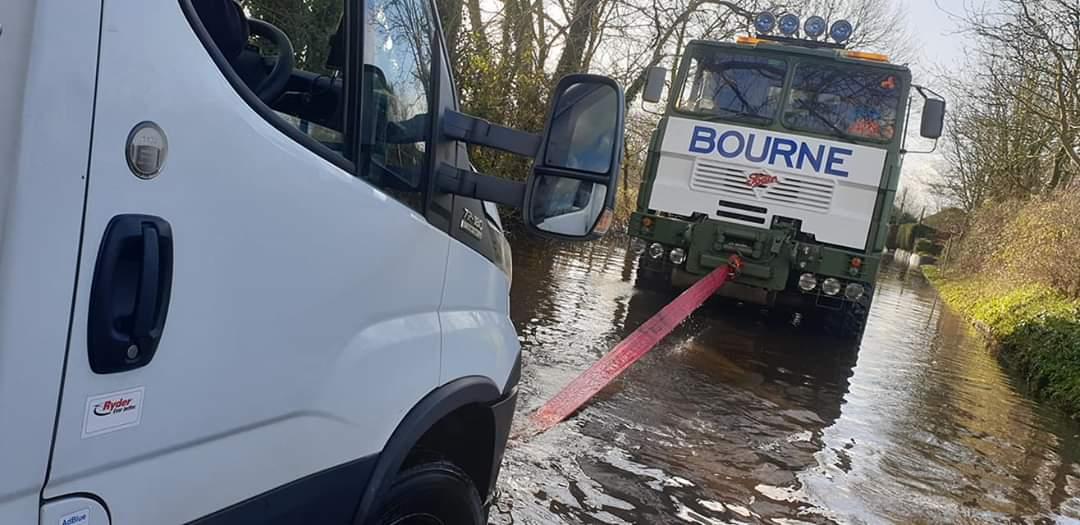 Van Recovery - Floods Dorset